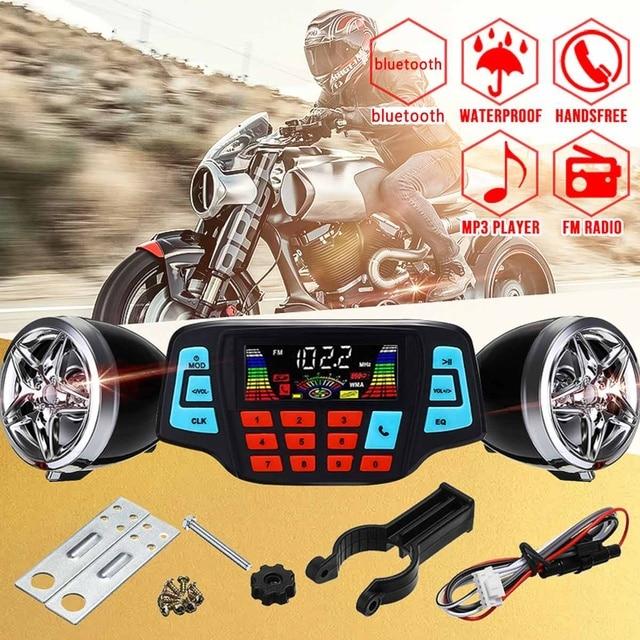 Motorcycle Studio Sound System  1