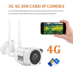 Image 2 - 3G 4Gกล้อง 1080P HD IR Night Vision Bulletกล้องWIFIกล้องวงจรปิดไร้สายp2P Onvif CamHi
