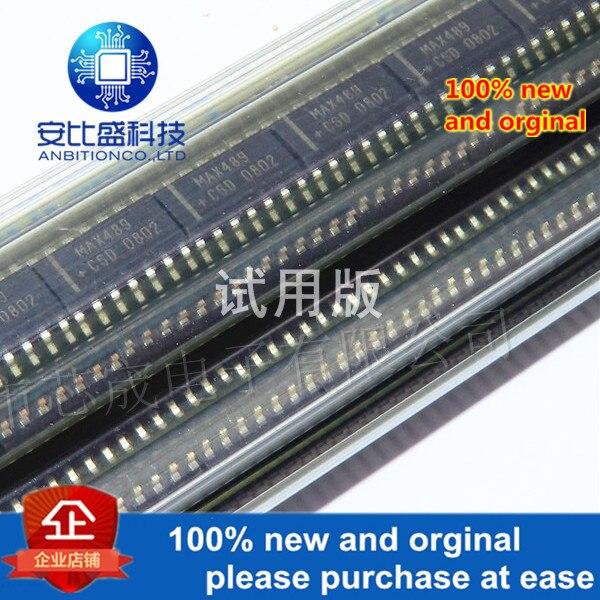 5pcs 100% New And Orginal MAX489CSD+T MAX489 SOP14  In Stock