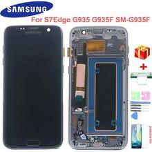 """Оригинальный 55 """"s7 edge lcd дисплей для samsung galaxy"""