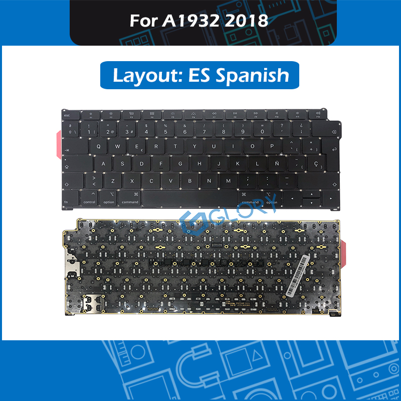 New Spain Standard Keyboard For Macbook Air 13.3