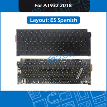 New Spain standard Keyboard For Macbook Air 13.3″ A1932 Keyboard ES Spanish Layout Replacement 2018