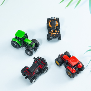 Image 5 - Kids Diecasts Vehicle Mini Motorcycle Utility Vehicle Alloy Simulation Beach Motorcycle Sliding Car Model Toys for Children Boys