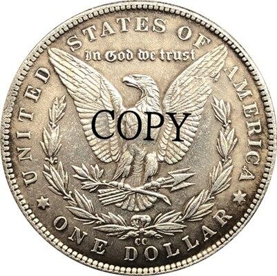 Hobo Nickel 1878-CC USA Morgan Dollar COIN COPY Type 164
