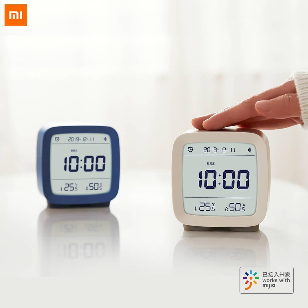 Pre-Sale Xiaomi Youpin Bluetooth Alarm Clock 3 In 1 Electronic Clocks Desktop Temperature Humidity Monitor Digital Clock