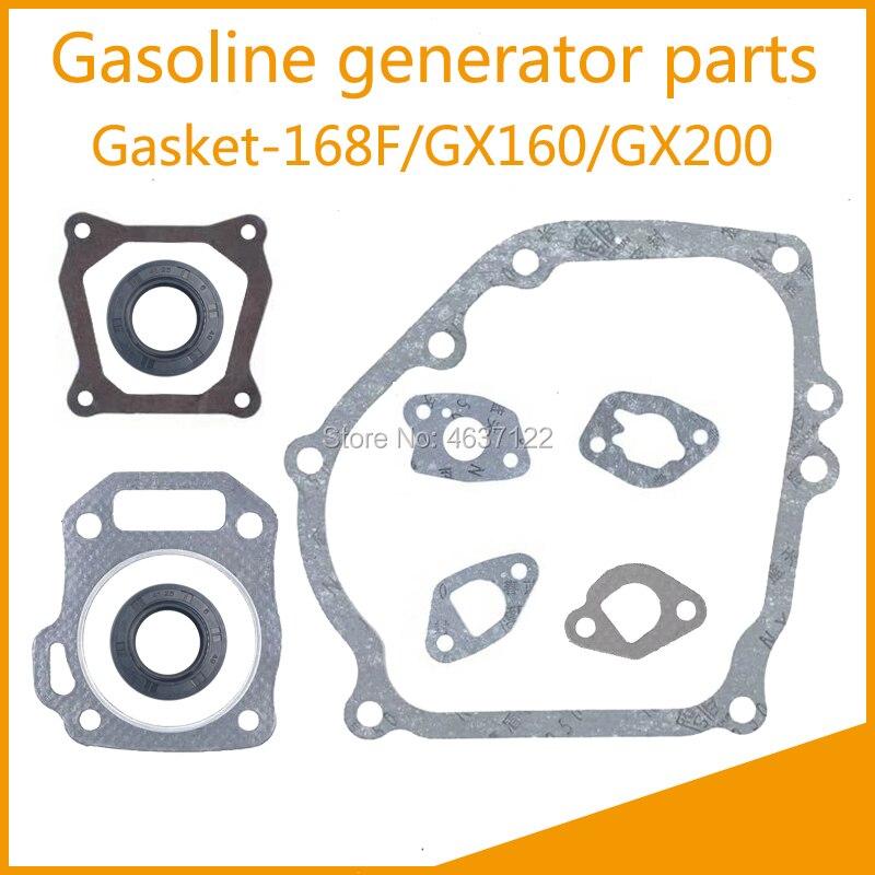 Gasket Kit For Honda GX620 20HP Full V Twin Crankcase Head Gasket Carburetor New
