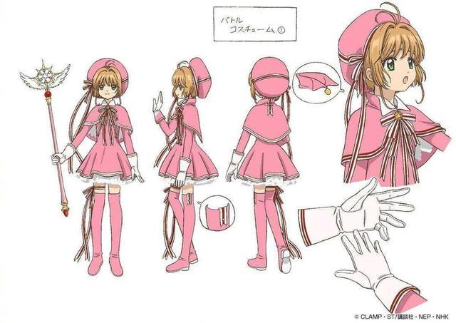 Обувь для костюмированной вечеринки captor card sakura clear