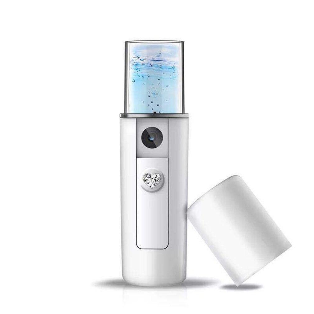 Mist Sprayer Facial Body Nebulizer Steamer Face Beauty Instrument Rechargeable Travel Moisturizing Spray Tool