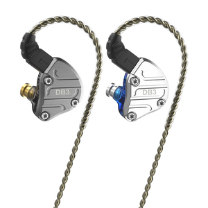 Image 1 - 2020 Nicehck DB3 2DD + 1BA Hybrid 3 Driver Units In Ear Oortelefoon Monitor Running Sport Headset Hifi Oordopjes Iem dj 2Pin NX7 X49