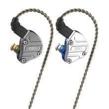 Nicehck db3 2dd + 1ba híbrido 3 driver unidades de fone de ouvido intra auricular monitor corrida esporte fone de ouvido hifi fone de ouvido iem dj 2pin nx7 x49