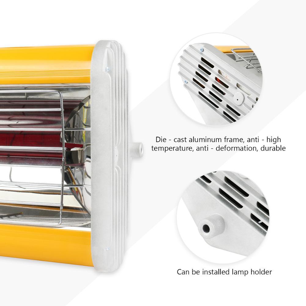 Mr Cartool cuerpo de coche lámpara de pintura infrarroja de mano lámpara de curado de pintura Reparación de pinturas para Auto horneado Handhold calefacción 220V - 5