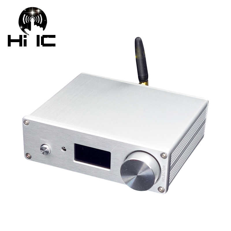 Dual AK4493*2 DAC Bluetooth 5.0 Support Optical Coaxial Input HiFi Audio Decoder 192KHz DSD RCA output With Remote Control