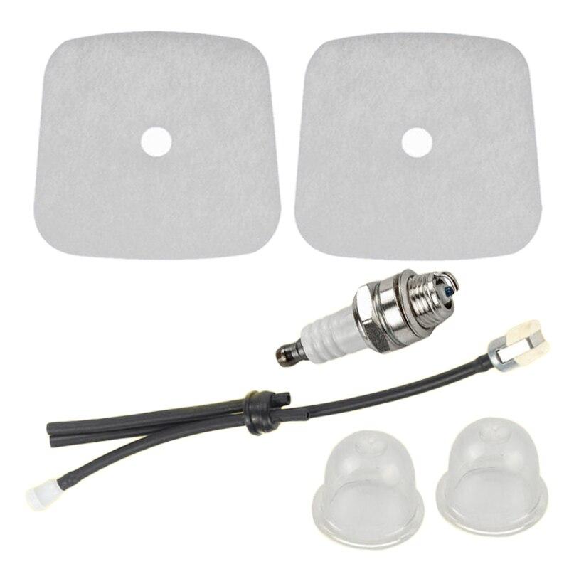 Air Fuel Filter Spark Plug Grommet For Mantis 7222M 7920 7924 Tiller Cultivator