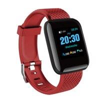 Умные часы D13 1,3 дюймов OLED цветной экран Bluetooth водонепроницаемые спортивные Смарт-часы браслет для занятий спортом для Android