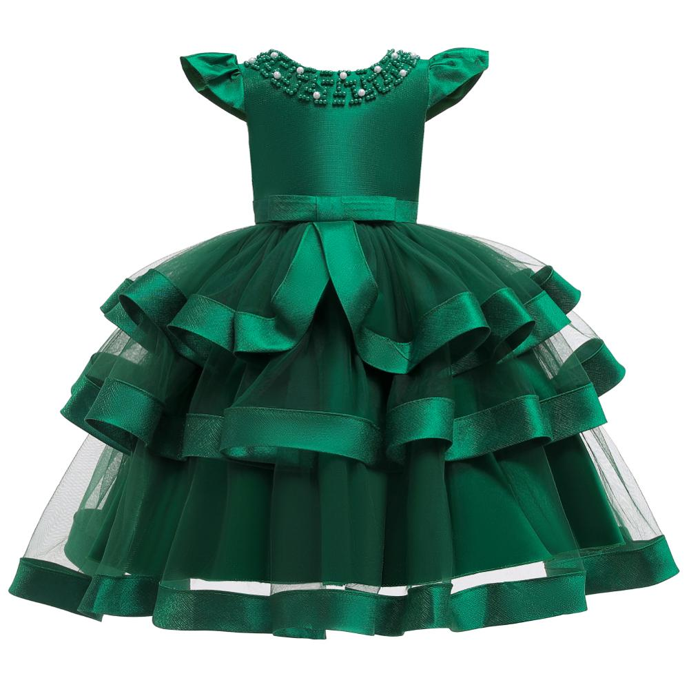 Girls Dress Elegant New Year Princess Children Party Dress Wedding Gown Kids Dresses for Girls Birthday Party Dress Vestido Wear 16