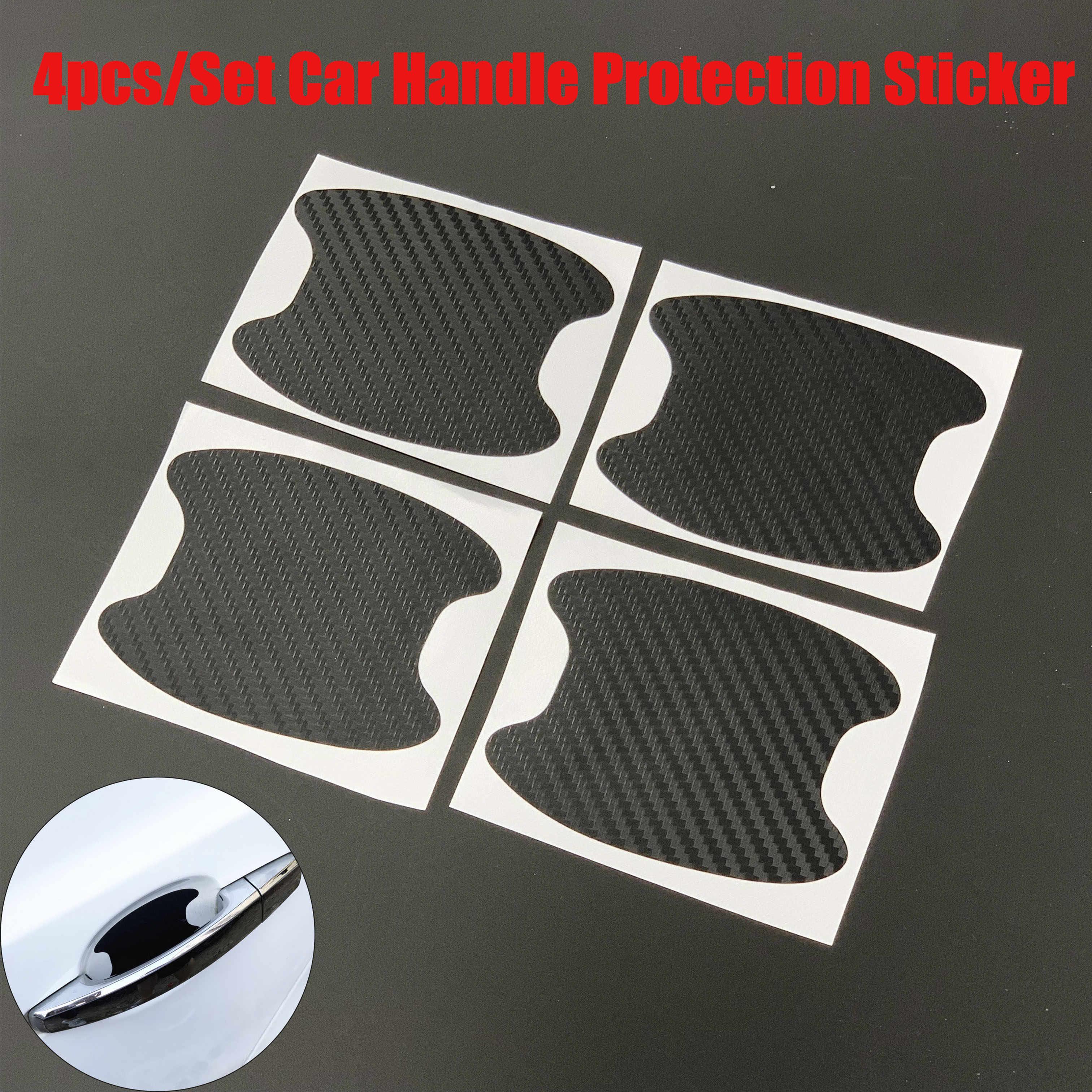 4pcs Auto Maniglia Della Porta Ciotola Protector Sticker per diagnostico di Fiat EVO Sedici Linea Bravo FCC4 Viaggio Coroma Ottimo Uno