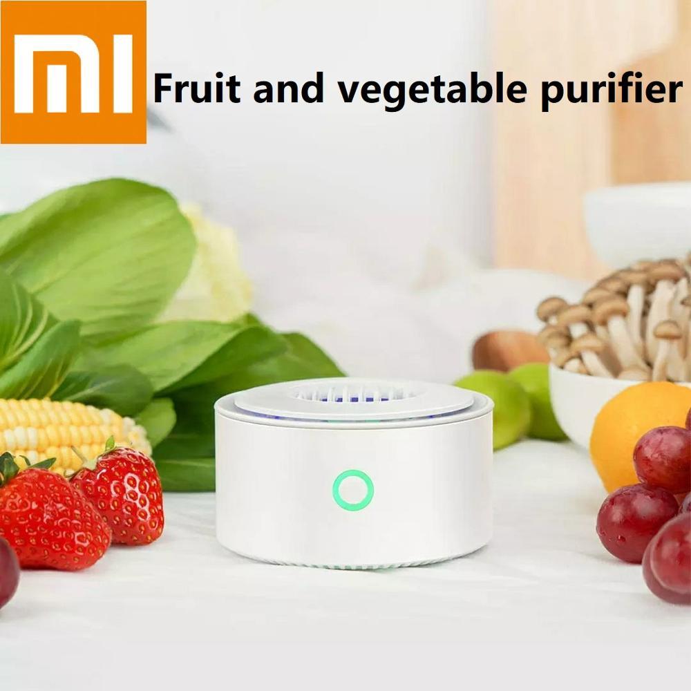 Xiaomi Fruit Vegetables Purifier For Sterilize Disinfection Remove Pesticide Residues Home Vegetables Food Sterilizer Portable