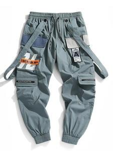 Men Pants Sports-Trousers Streetwear-Beam Hot-Jogger Printing Hip-Hop Fashion New Foot
