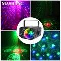LED RGB Disco Licht Party Dj Licht Laser Projektor Bühne Wirkung Licht Sound Aktiviert für Urlaub Bar Club Disco Wirkung lampe-in Bühnen-Lichteffekt aus Licht & Beleuchtung bei