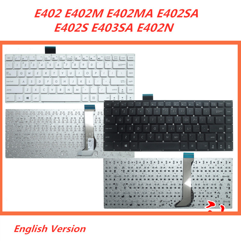 For ASUS  E402 E402SA E403SA US Keyboard case Cover Palmrest  red OR WHITE.