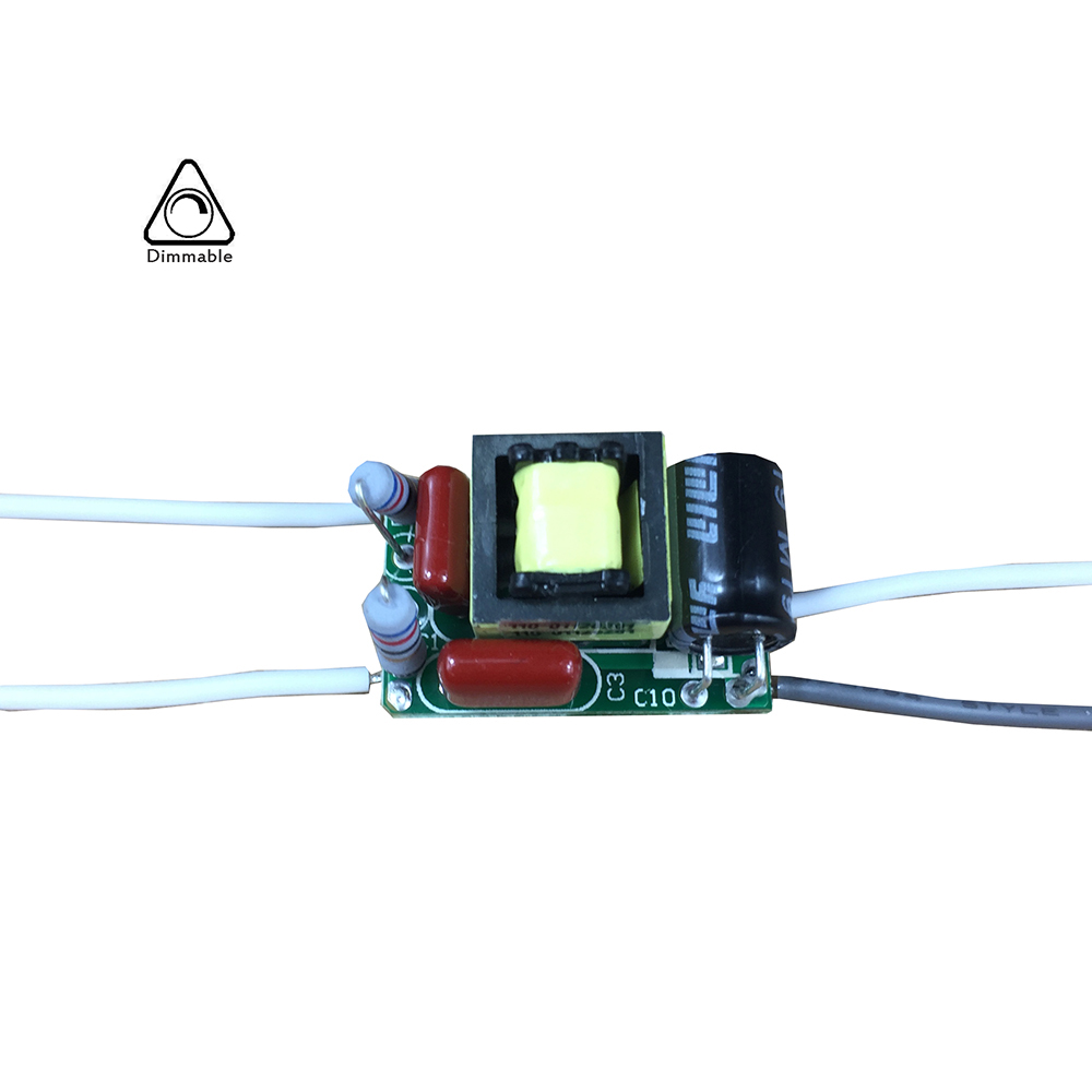 4W 5W 6W 7W 150mA <font><b>36V</b></font> NXP Triac Dimmable Driver for GU10 E27 Bulb, Tiny <font><b>Transformer</b></font> for Little Splace Installation image