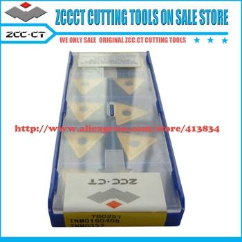 цена на 10pcs original ZCCCT insert carbide TNMG160408 YBC251 ZCC.CT blade cutter CNC Inserts cutting tools cutter TNMG 160408