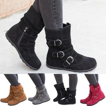 Women's Casual Short Cotton Boots
