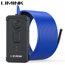 LIMINK 1944P HD WiFi Borescope Snake Camera 5MP Endoscope CameraWireless IP67 Waterproof Inspection Camera for iOS & Android