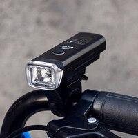 Mountain Bike Light Multifunction Adjustable Smart Sensor Lights Aluminum Alloy Flashlight USB Charging Bicycle Headlight