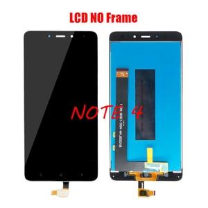 Image 5 - XIAOMI Redmi Note 4X Redmi Note 4 전면 케이스가있는 기존 LCD 스크린 어셈블리 검정색 흰색 수리 도구 및 강화 필름