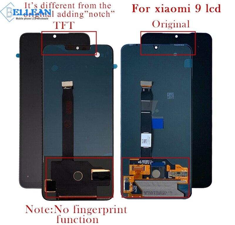 Dina mi co 6.39 pouces mi 9 affichage pour Xiao mi 9 Lcd affichage écran tactile numériseur assemblée 5.97 pouces mi 9 SE Lcd livraison gratuite