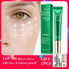 лучшая цена EFERO Anti Wrinkle Eye Cream Against Blue Light Nourishing Eyes Remove Dark Circles Repair Dry Skin Fine Lines Peptide Eye Cream