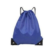 Водонепроницаемый складной тренажерный зал сумка фитнес рюкзак шнурок магазин карман походы кемпинг пляж плавание мужчины женщины спорт сумки