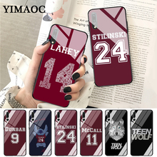 YIMAOC Teen Wolf Stilinski 24 Dunbar 9 Glass Case for Huawei P10 lite P20 Pro P30 P Smart honor 7A 8X 10 Y6 Mate 20