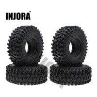 "4PCS 120MM 1.9"" Rubber Rocks Tyres / Wheel Tires for 1:10 RC Rock Crawler Axial SCX10 90046 AXI03007 D90 D110 TF2 Traxxas TRX-4 1"