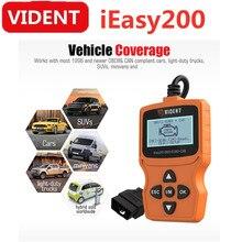 VIDENT easy200 OBDII/EOBD+ считыватель кода для проверки транспортного средства светильник двигателя