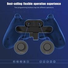Ersatz Paddel Für PS4 Controller Zurück Taste Befestigung Für Dualshock4 Gamepad Hinten Verlängerung Tasten