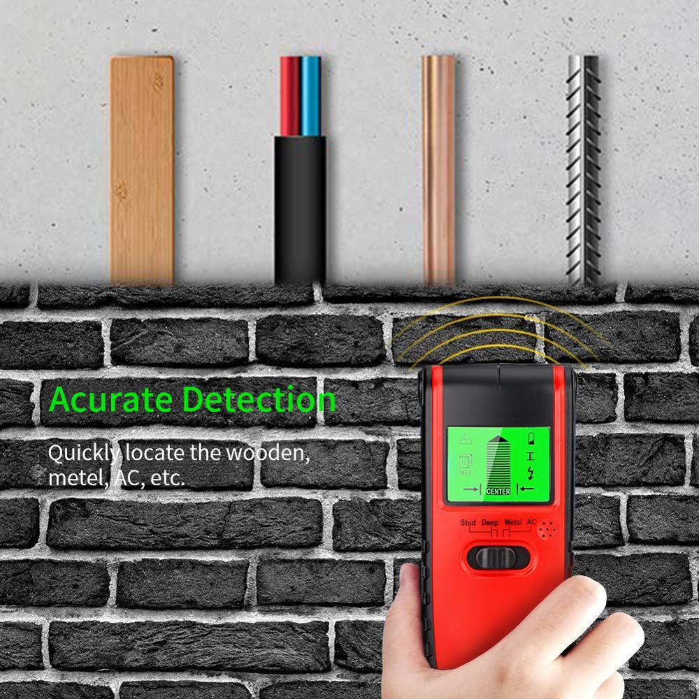 4 в 1 металлоискатель шпилька центр поиска металла и переменного тока живой провод детектор настенный сканер электрическая коробка искателя детектор стены|Промышленные металлодетекторы|   | АлиЭкспресс