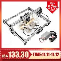 15 W/3000 mw 50*65cm CNC Laser Engraver Gravur Maschine für Metall/Holz Router/ DIY Cutter 2 Achsen Engraver Desktop Cutter + Laser