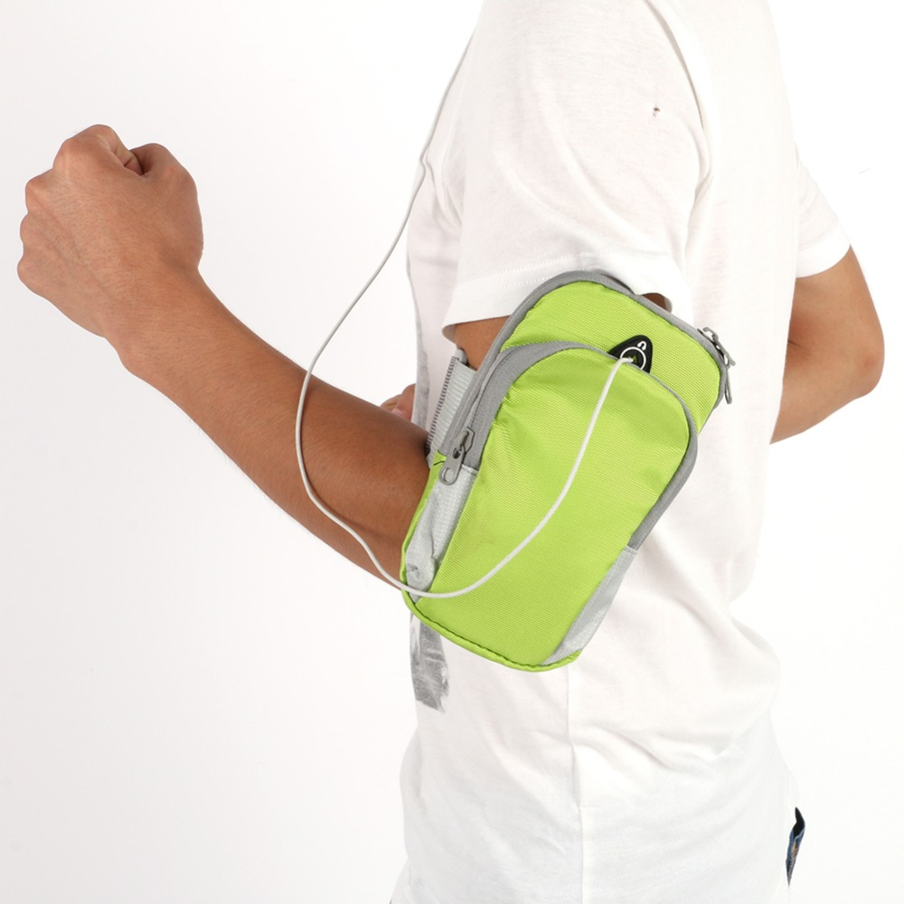 Running Jogging Sport Armband Gym Arm Running Bag Outdoor Waterproof Nylon Hand Bag For Armband Sport Running Bag