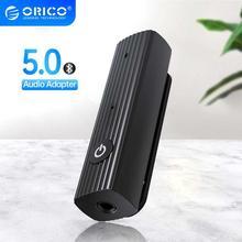 ORICO Bluetooth 5.0+EDR Audio Receiver 3.5mm AUX Jack Adapter Headphone Speaker Music Mini Wireless Bluetooth Adapter for Car