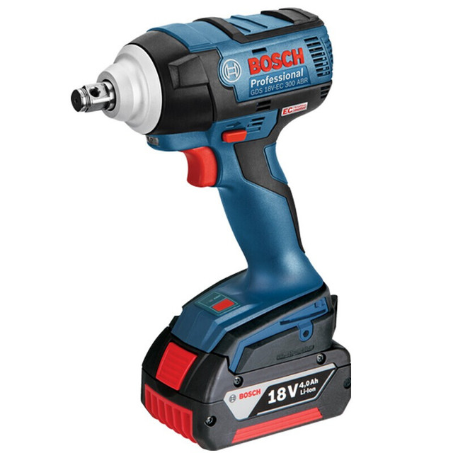 Bosch 18V Cordless Impact Wrench Lithium Battery Rechargeable Electric Wrench GDS 18V-EC 300 ABR 300N.m Brushless Impact Wrench 2