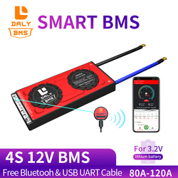 3.2v LifePO4 BMS 4S 12V 80A 100A  to 250A PCM  Bms LiNCM LMO Li-p 18650 Battery Pack