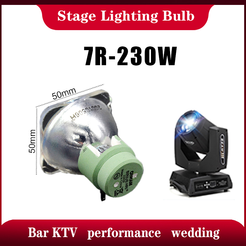 Hot Sales R7 230 Beam 230w 7r 230w Sharpy Beam Light Bulb Moving Beam Buld 230 Beam Lamp 230 SIRIUS HRI230W For Stage Lighting
