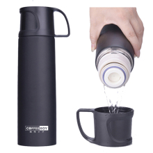 Stainless steel vacuum flask Steel Vacuum Insulated Wide Mouth Water Bottle Double-Wall