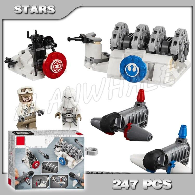247pcs Space Wars Hoth Generator Snowtrooper Rebel Trooper 11418 Model Building Blocks Children Boys Compatible With Lago Blocks Aliexpress
