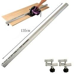 135cm 3 w 1 fazowanie oprawa Flip saw elektryczna piła tarczowa maszyna do cięcia przewodnik stóp linijka przewodnik narzędzia do obróbki drewna w Zestawy narzędzi ręcznych od Narzędzia na