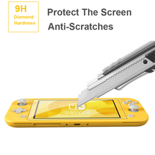 Tempered for Nintend Switch Lite NS Glass Ultra Clear Full HD Screen Protective Film Surface Guard Console Protector Cover Skin tempered glass ultra clear full hd screen protective film surface guard for nintend switch ns console protector cover skin
