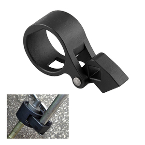 1 Set of Car Ball Joint Removal Tool Tie Rod Ball Joint Splitter Removal Extractor Kit (Black) A30