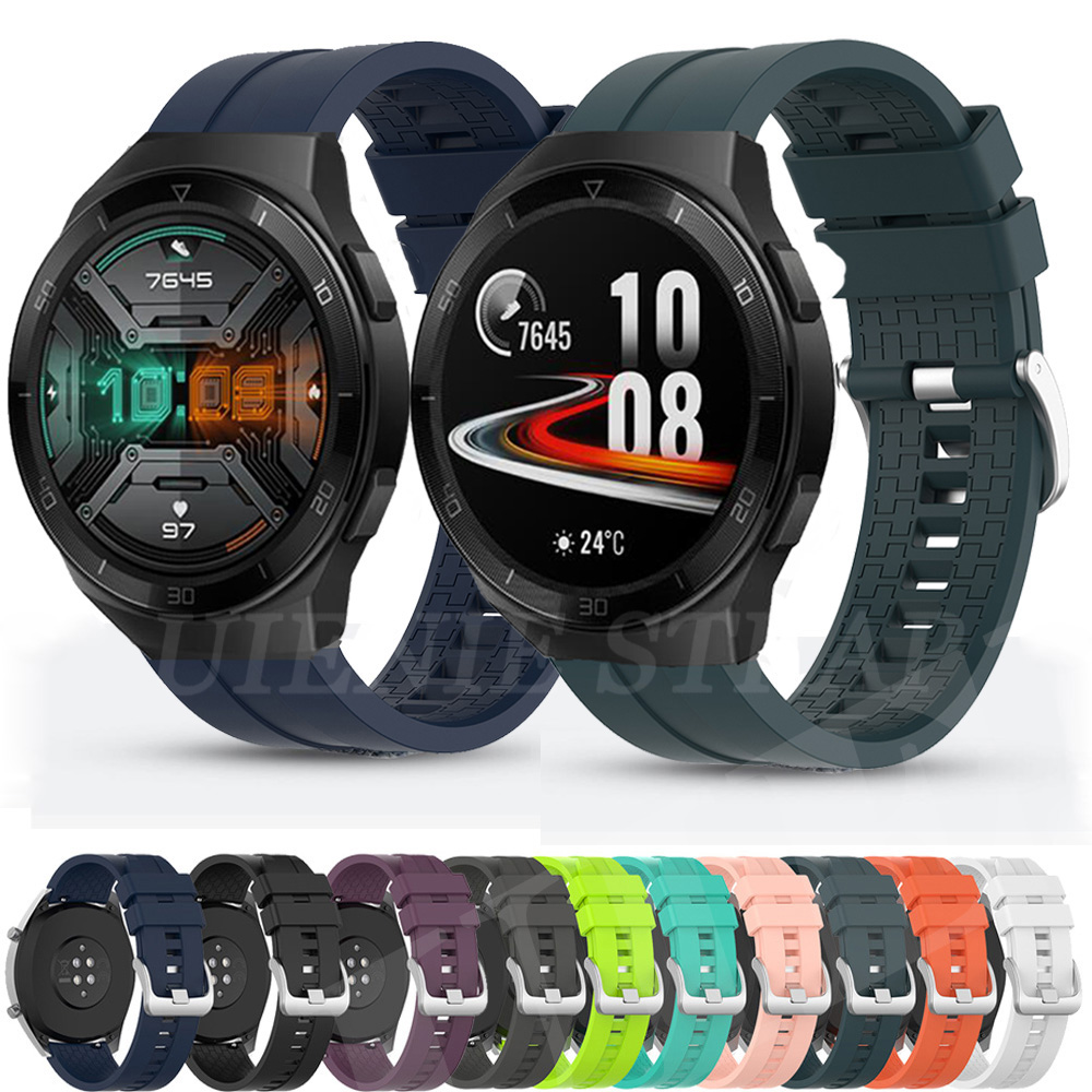 For Huawei Watch Gt 2e 46mm GT 2 Gt2e Strap Silicone Watchbands Sport Bracelet 22mm Watch Band For Honor Magic Watch 2 46mm